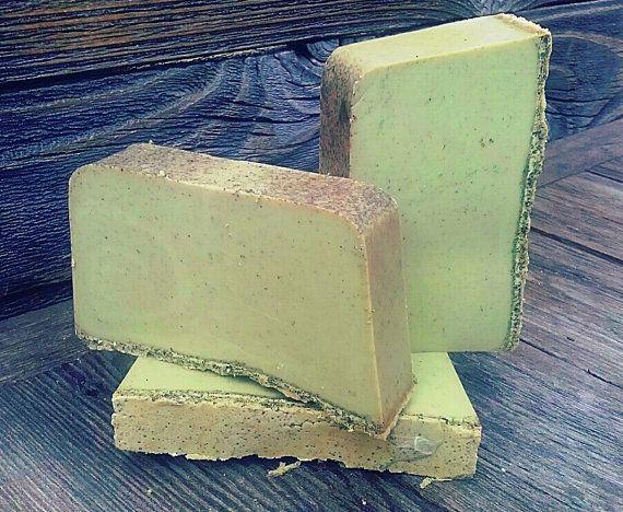 Green Tea and Lemon Grass Goat's Milk Soap by TheTexasGypsy, $5.00