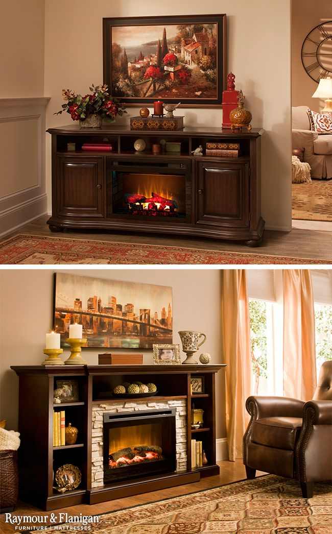 Fireplaces And Fireplace Tv Consoles Raymour And Flanigan