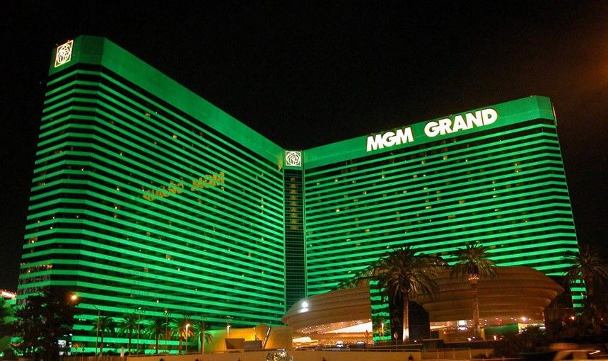 Mgm Grand Hotel Las Vegas Baby Pulled This From The Lovely Emerald Green