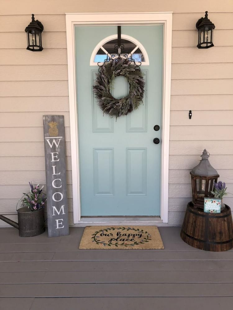 76 Modern Rustic Farmhouse Front Porch Design Ideas With Images Front Porch Decorating
