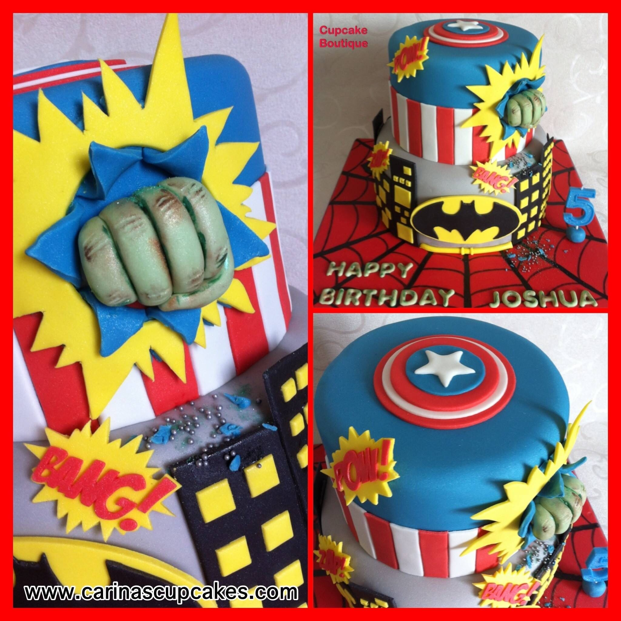 Comic Book Cakes With Images Book Cakes Birthday Cake Kids