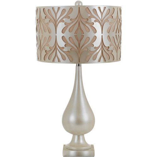 Stardust table lamp by candice olson for af lighting with laser cut stardust table lamp by candice olson for af lighting with laser cut shade pearl finish aloadofball Gallery
