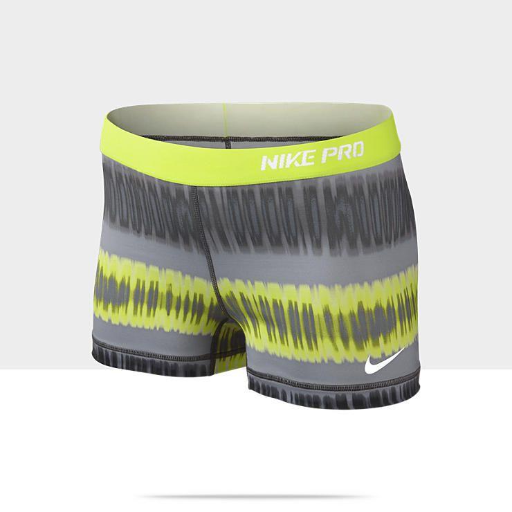 So cute! Nike Pro Core Printed 2.5 Womens Shorts