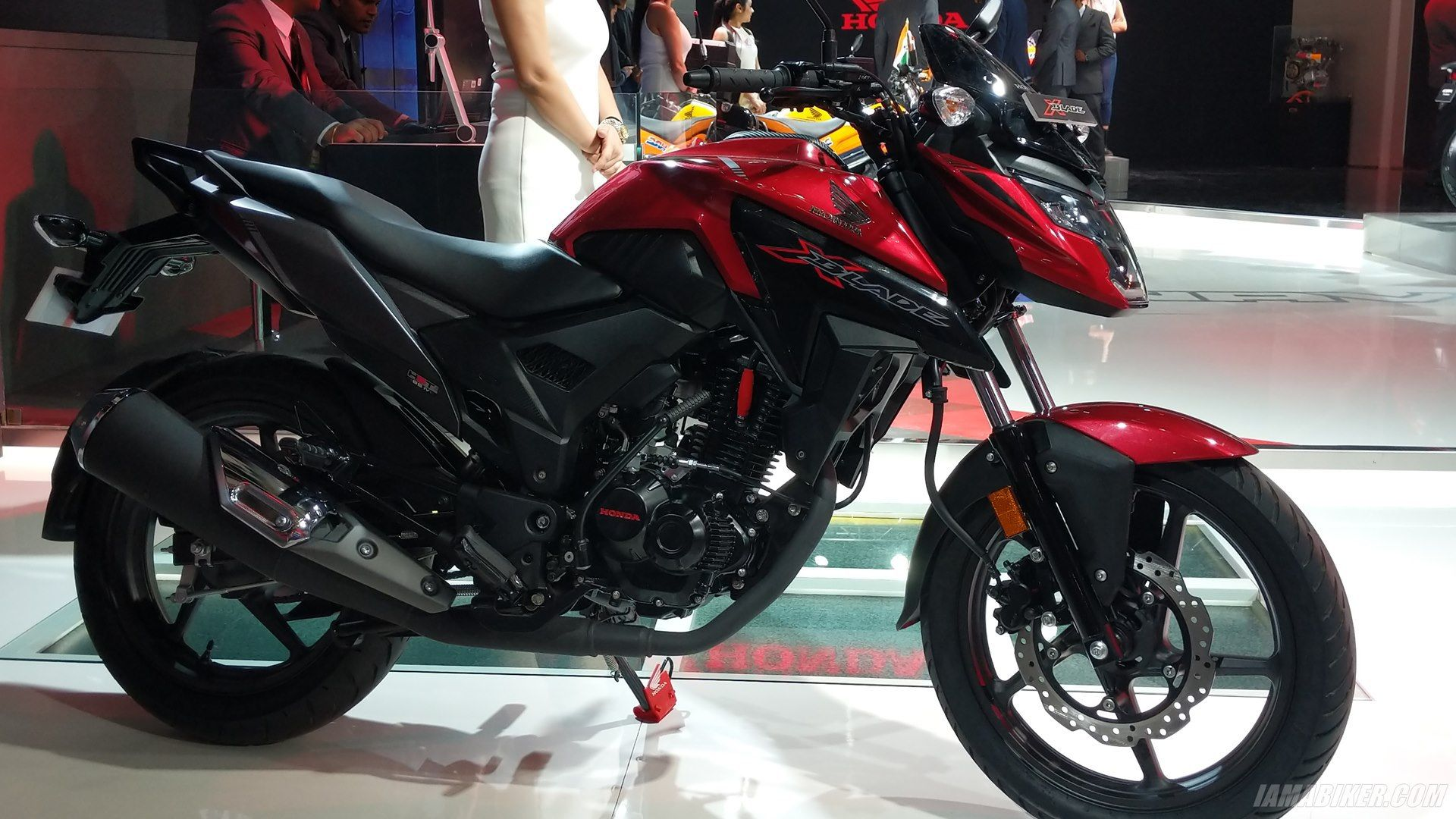 Honda Xblade Unveiled At Auto Expo 2018 Honda Motorcycle News Motorcycle