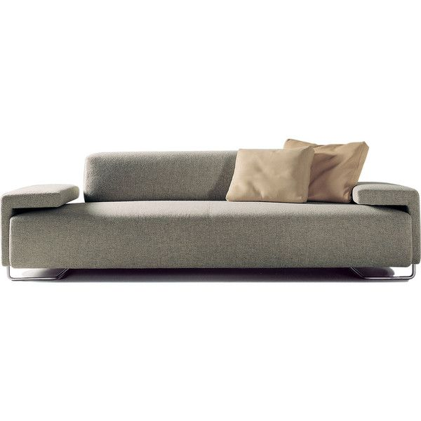moroso lowland 3 seater sofa 6 300 liked on polyvore featuring rh pinterest com