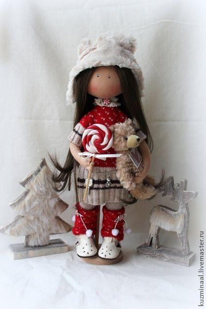 Men handmade.  Fair Masters - Textile handmade doll BRIDGET.