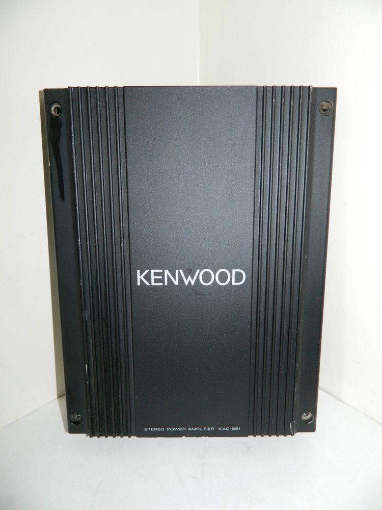 Kenwood Stereo Power Amplifier Kac  Kenwood