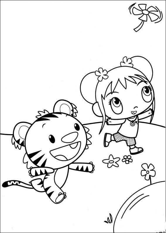 Ni Hao Kai-Lan Tegninger til Farvelægning 12 | Tegninger ...