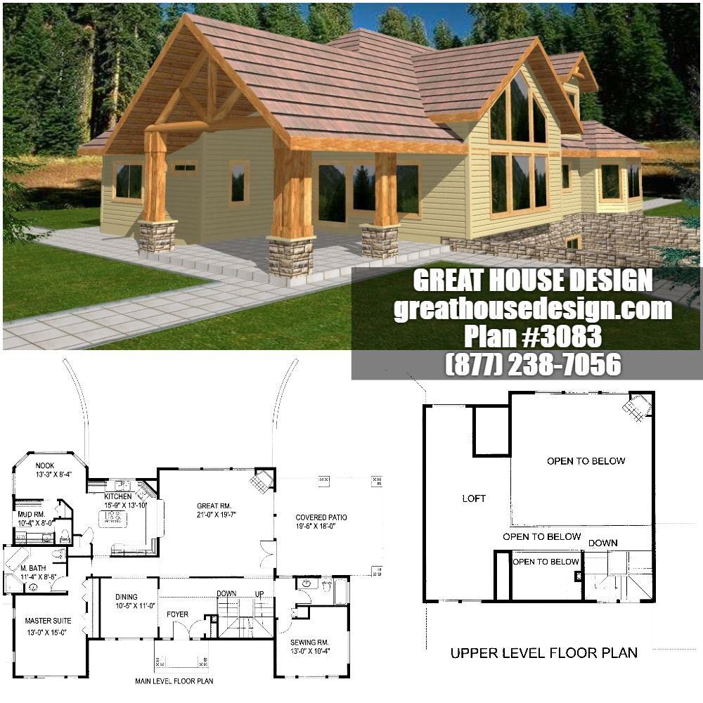 Home Plan 001 3083 Home Plan Mountain House Plans House Plans House Design