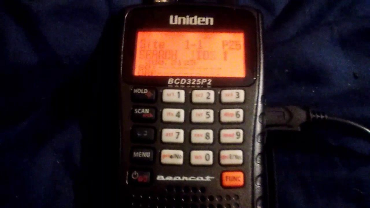 How to program a P25 frequency on Uniden BCD325P2 | Police