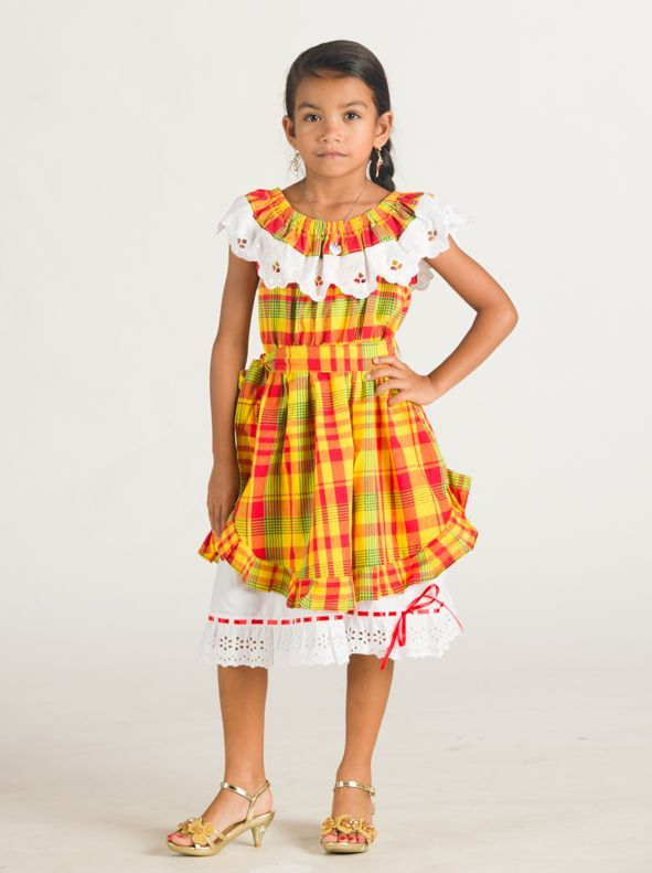 robe madras enfant mode pinterest robe vetements et robe traditionnelle. Black Bedroom Furniture Sets. Home Design Ideas