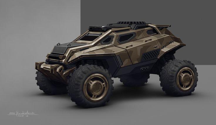 Concept off road vehicles