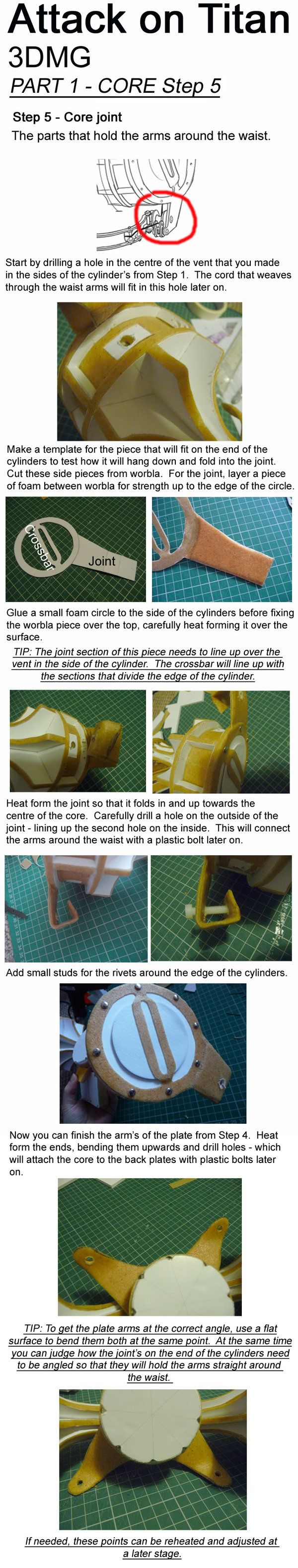 attack on titan 3dmg tutorial core step 5 by