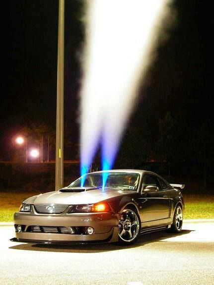 Just a lil spray  Mustang