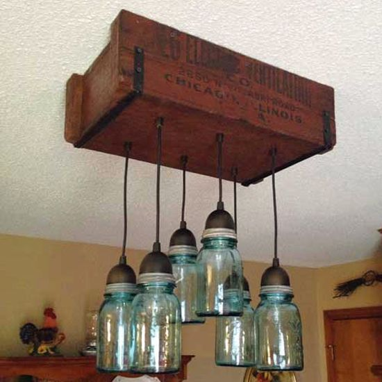 Diy Kitchen Light Fixtures Part 2: How To Make Canning Jar Lights – DIY