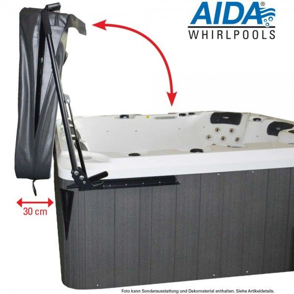 Aktionsmodell AIDA Riva smartrelax Whirlpool (23 Pers