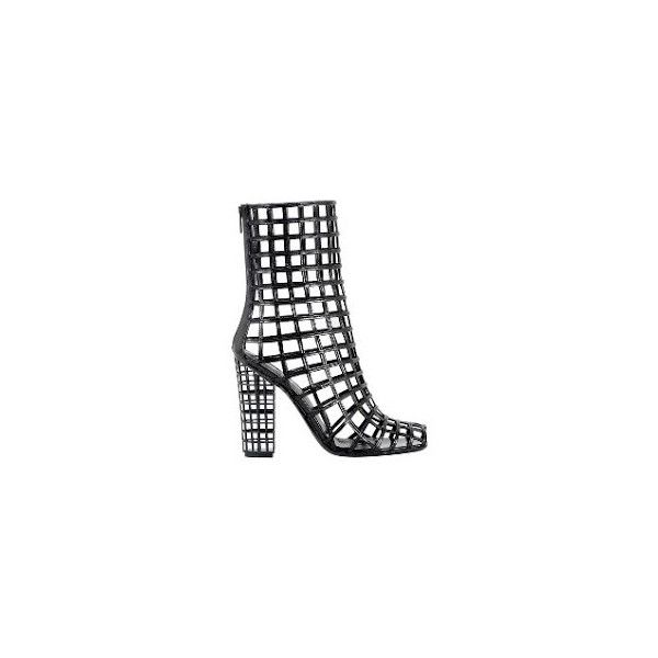 72b08987258 The Same Game YSL Cage Boots ❤ liked on Polyvore featuring shoes, boots,  heels, yves saint laurent boots, caged boots, heeled boots, yves saint  laurent ...