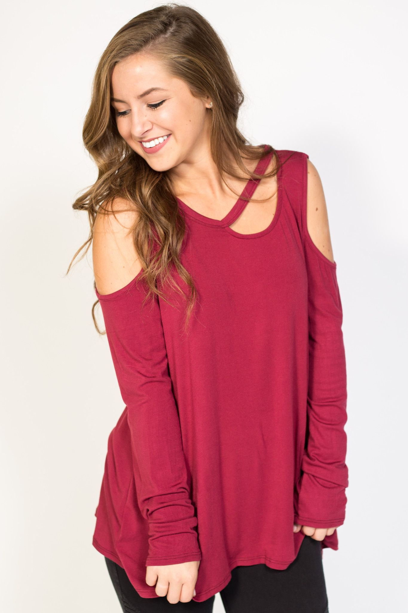 Valley Girl Cut Out Top