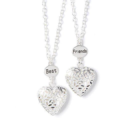 Conversation Heart Girls Necklace Heart Necklace Cute Gift For Girls Valentine Heart Necklace for Little Girls Little Girls Necklace