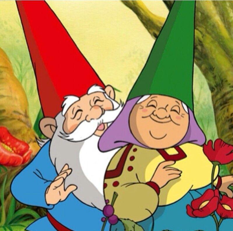 David Y Lisa David El Gnomo Dibujos Animados Caricaturas Viejas