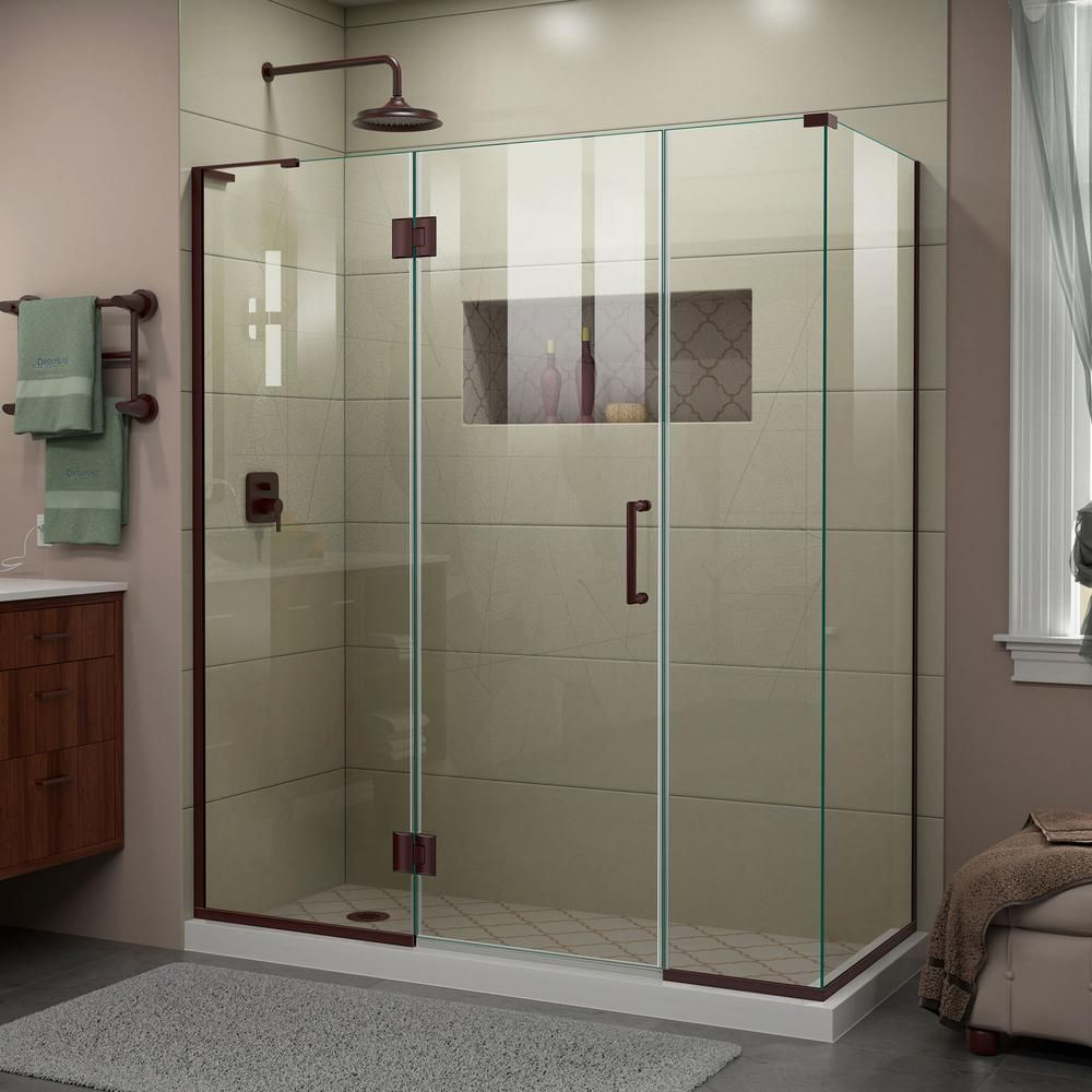 Dreamline Unidoor X 64 5 In W X 34 3 8 In D X 72 In H Frameless