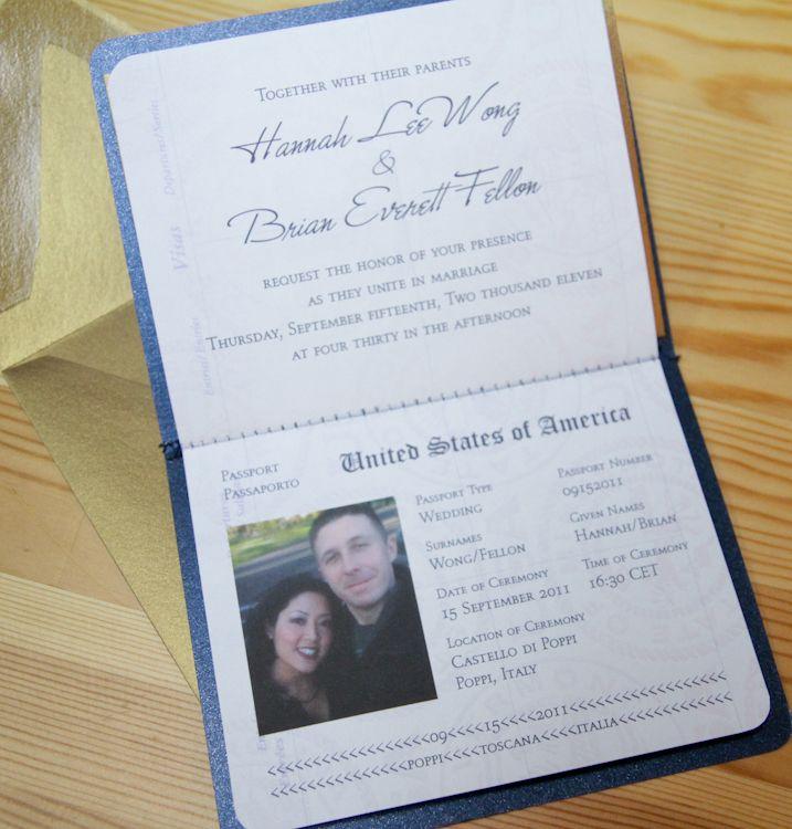 1000 images about Paspoort kaartjie – Passport Wedding Invites