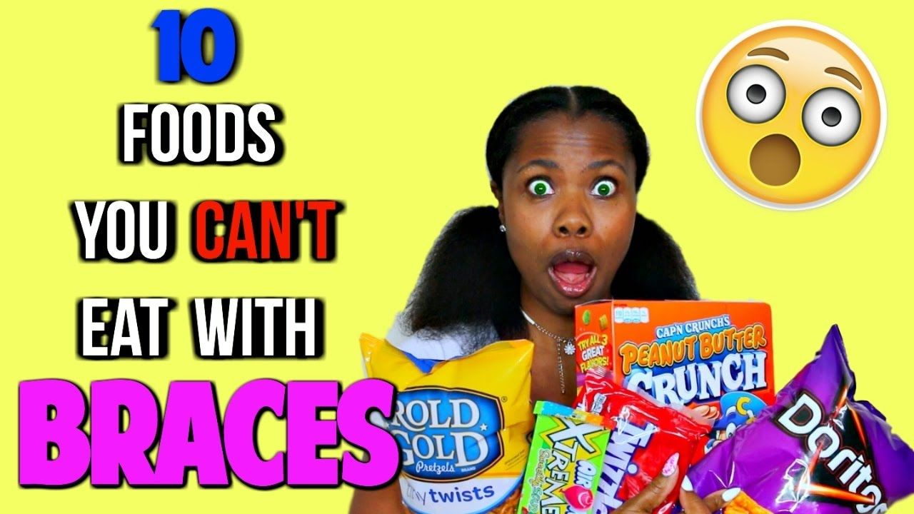 how to stop braces hurting when eating