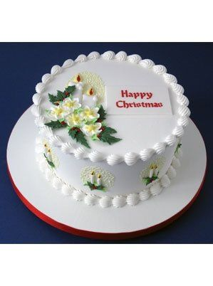 Traditional Royal Iced Christmas Cake With Images Christmas