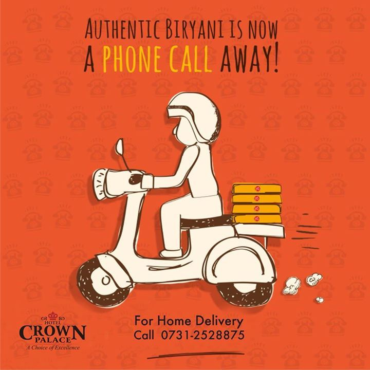 AUTHENTIC BIRYANI IS NOW A PHONE CALL AWAY! For Home ...