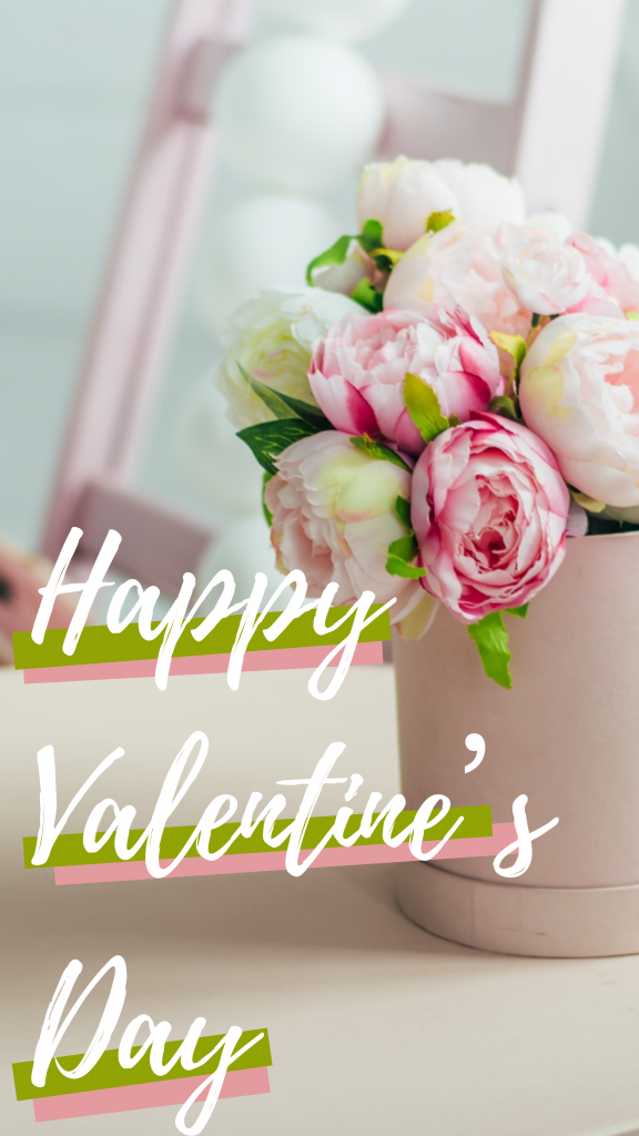 Happy Valentines Day Instagram Story Template Valentines Day Post Happy Valentine Valentines