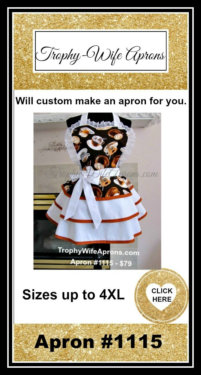 ☀ $  SAVE it to WIN it ☀  The lucky girl will get to select the Retro apron she wants.  Vintage inspired sexy aprons - #flirtyaprons - Custom or readymade hostess aprons -All sizes #hostessaprons #retroaprons #sexyaprons #ruffledaprons #layeredaprons #aprons☀ ☀ I regularly giveaway a FREE Funky Hostess Apron ☀ ☀  CLICK here for details==> https://sites.google.com/site/trophywifeaprons - I invite you to LIKE my fan page at:  www.Facebook.com/TrophyWifeAprons