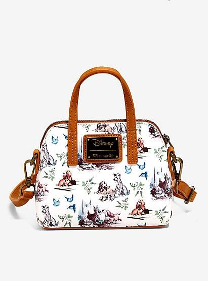 Loungefly Disney Lady And The Tramp Micro Dome Crossbody Bagloungefly Disney Lady And The Tramp Micro Dome Disney Purse Disney Bags Backpacks Disney Backpacks