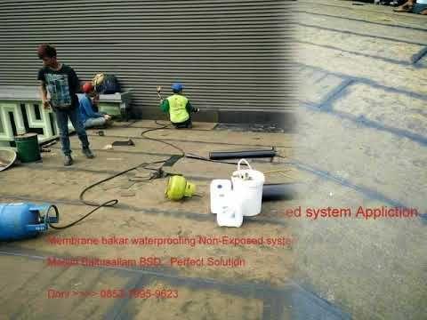 Kontraktor Membrane Bakar Waterproofing Dak Masjid Baitussalam BSD