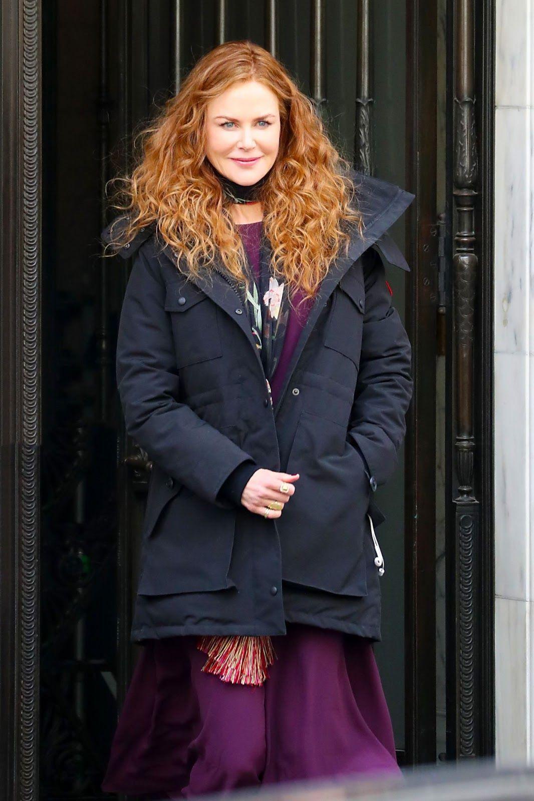 Nicole Kidman The Undoing Set In Nyc 03 14 2019 Nicole Kidman Nicole Fashion