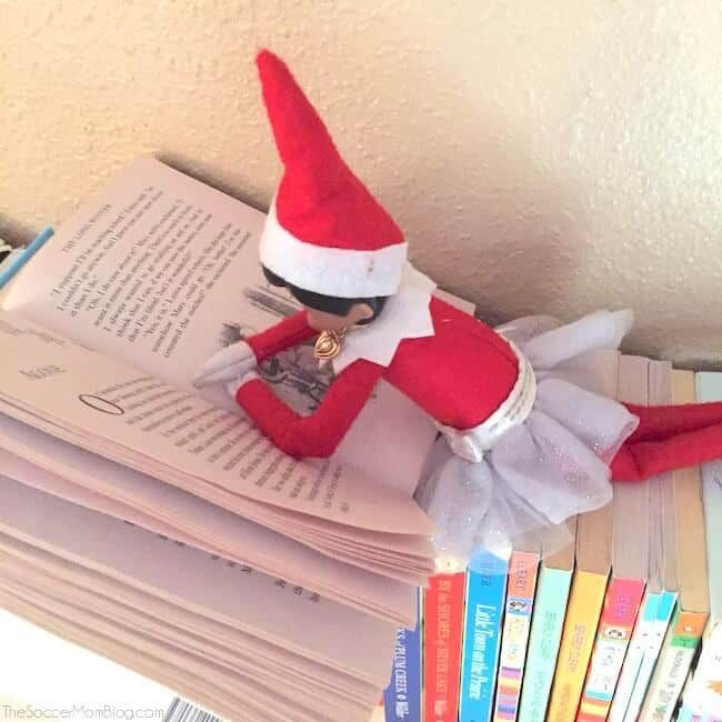 Fun & Clever Elf On The Shelf Ideas For Toddlers