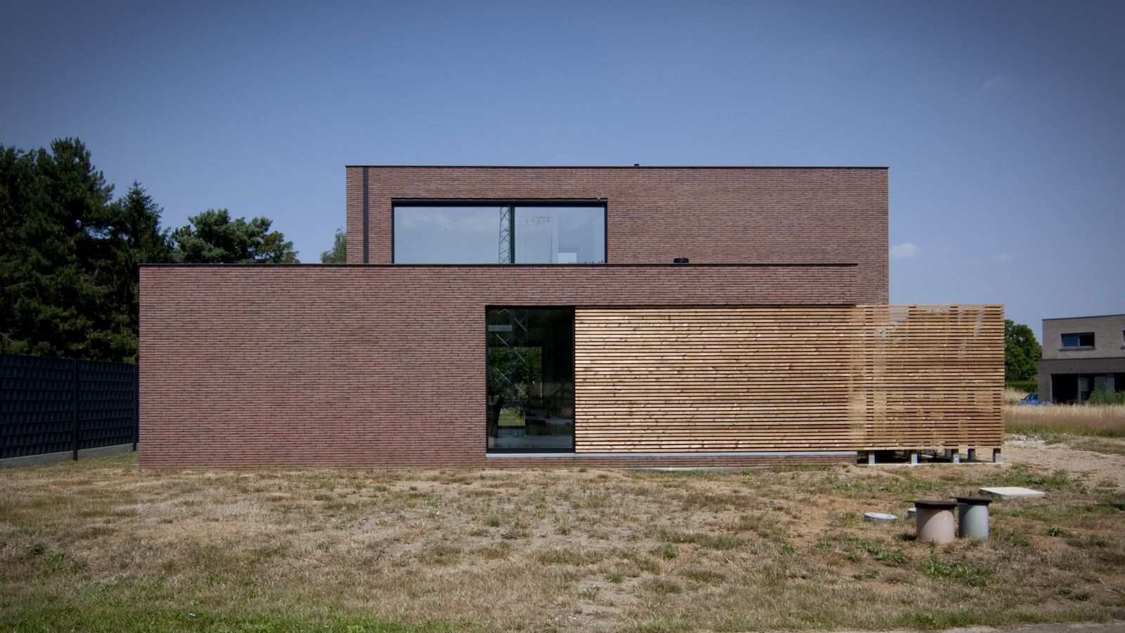 Block office architecten hedendaagse woning te paal for Hedendaagse architecten