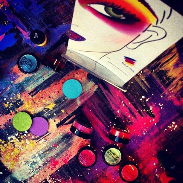 #makeup #artwork boutique #paris francs bourgeois #makeupforever