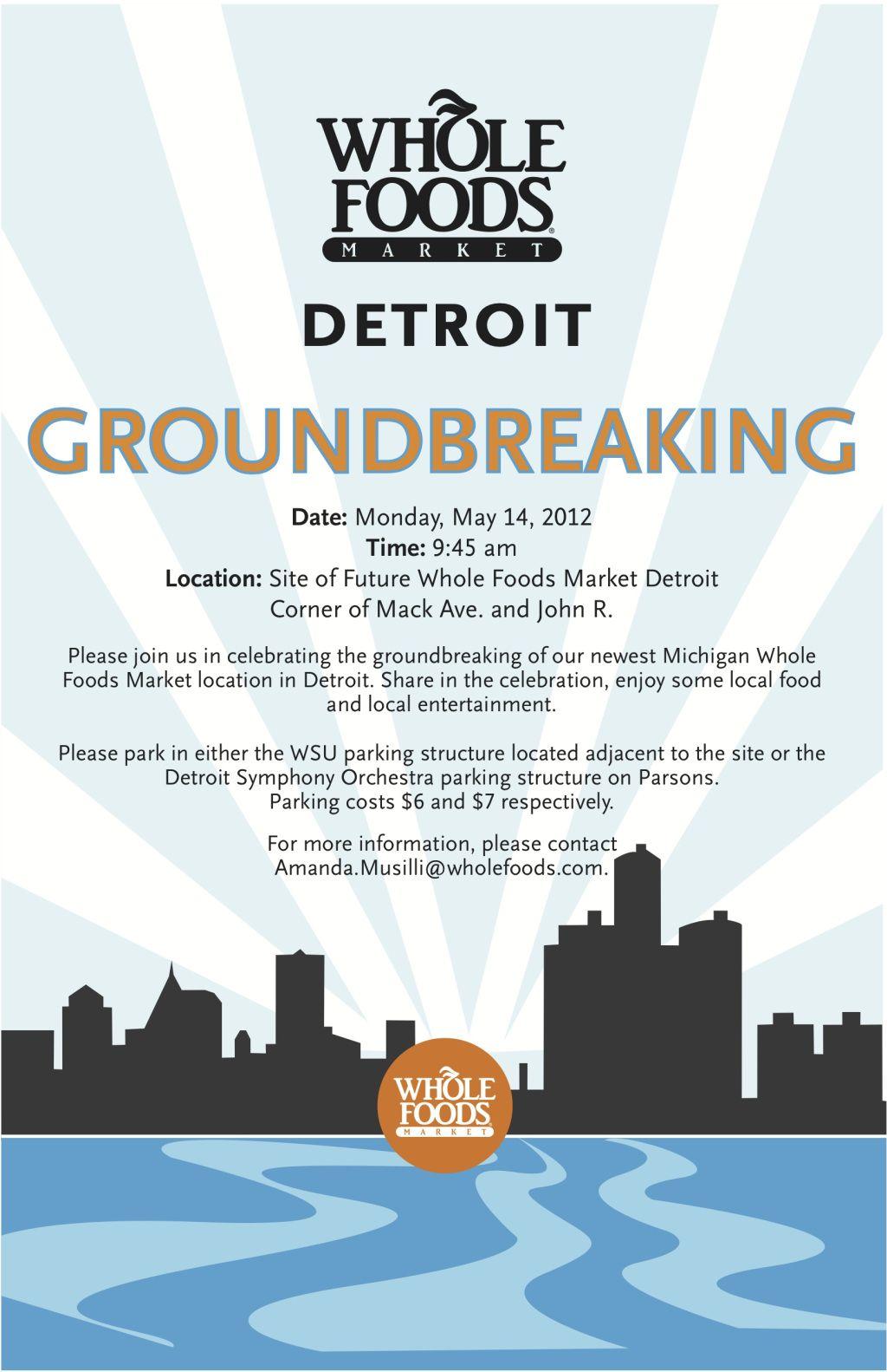 groundbreaking invite parking