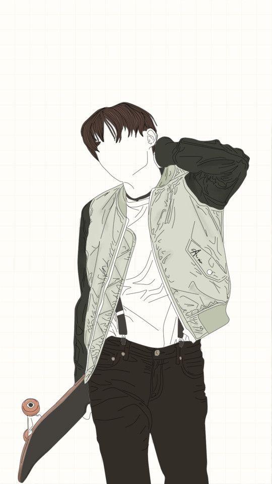 Sketch Pasta Drawings Fan Art Kpop Anime Wallpaper Korean Wallpapers