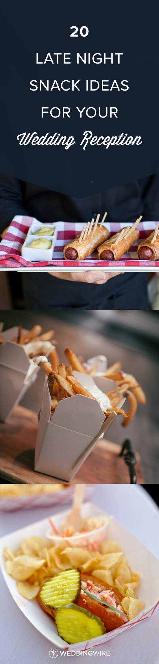 20 Late Night Snack Ideas For Your Wedding Reception