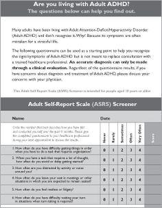 adult symptom Add