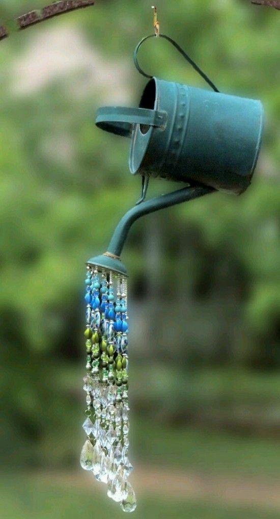 Ausgefallene Gartendeko selber machen - 60 Upcycling Gartenideen!  #artsandcraft #ausgefallene #gartendeko #gartenideen