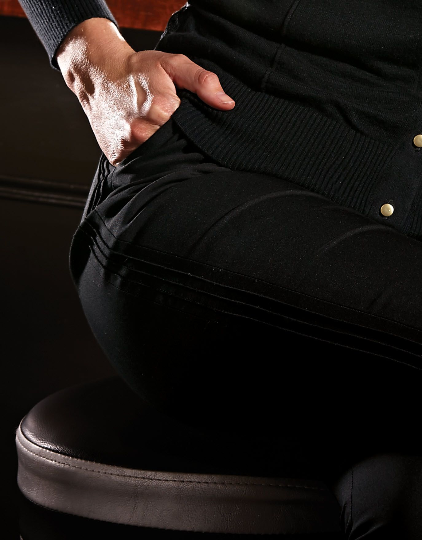 Pintuck Detail Trousers by Pepperberry