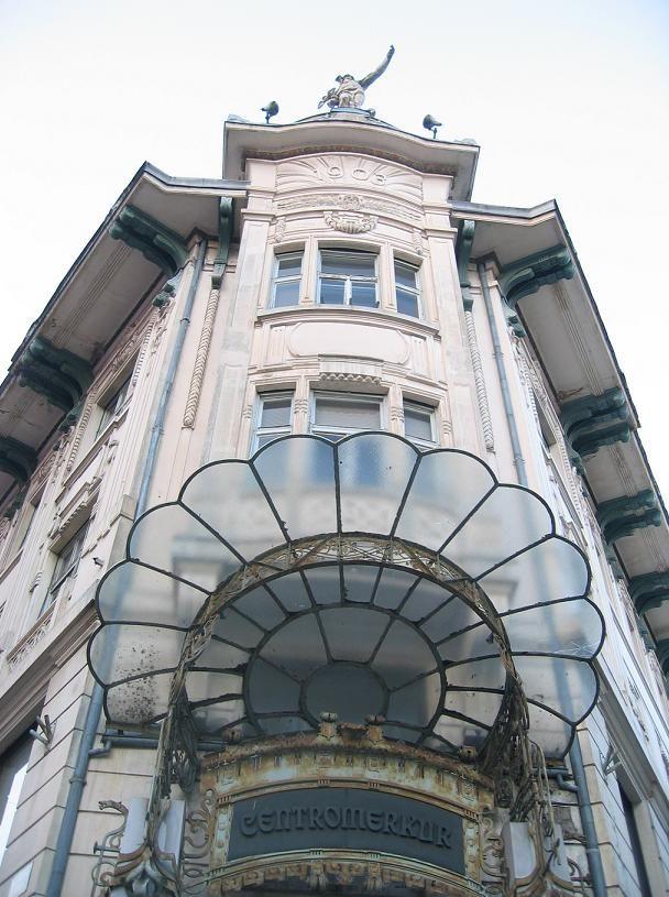 The Art Nouveau Urbanc House onPrešeren Square  (Slovenia)