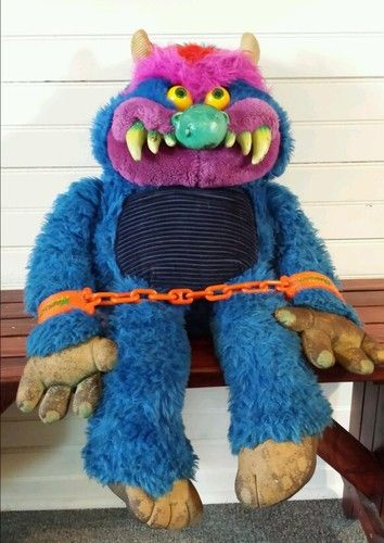 My Pet Monster 80s Plush Toy Growing Up Me Old Shit Childhood