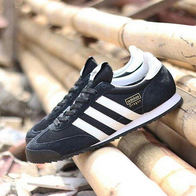 Adidas Originals Dragon: Black/White