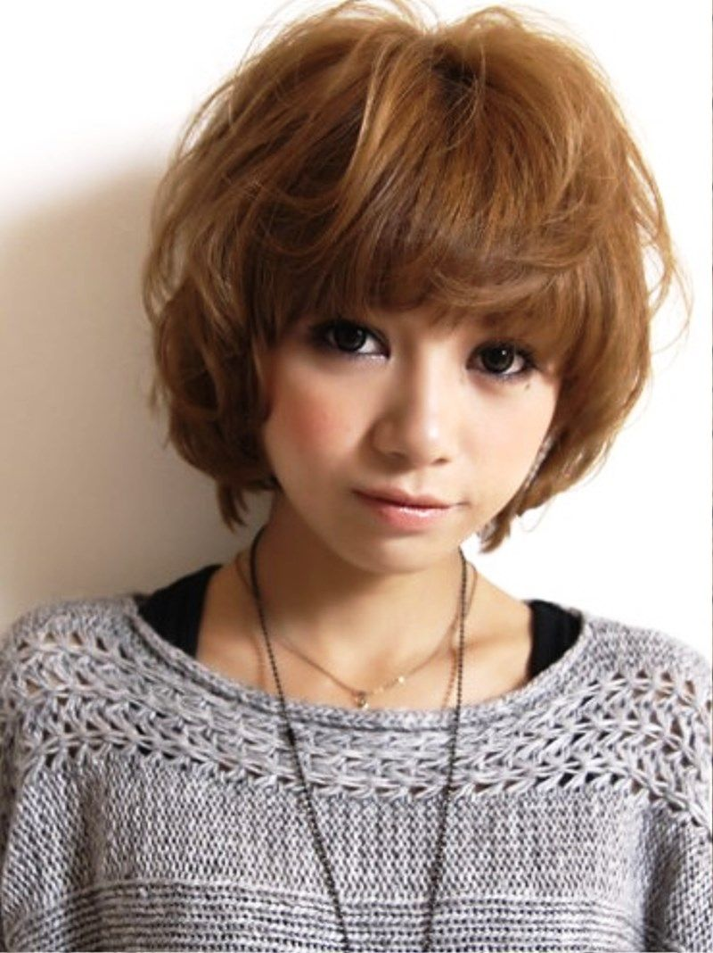 Short Hair Cute Hairstyles Emo And Harajuku Is A Most Model Of Japanese Hairstyle Simple