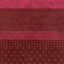 Papier Nepalais Fantaisie Fond Chocolat Impression De Motifs Rose Fushia Papier Japonais Papier Gamme De Couleur
