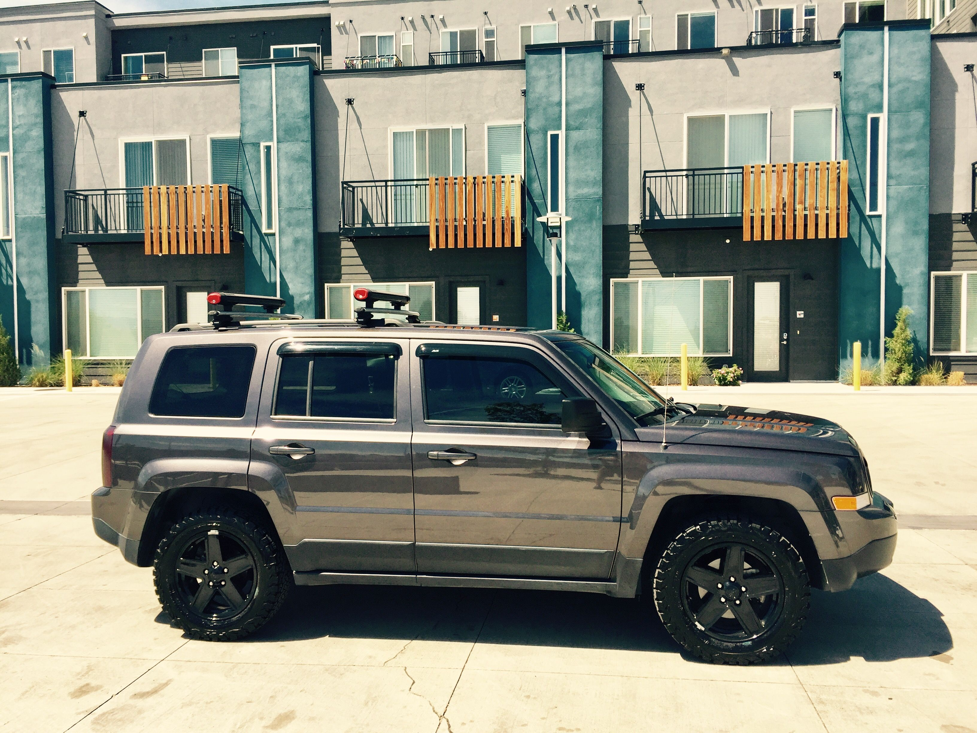 2014 Jeep Patriot Shaved Emblems 17 Rims On Bf Goodrich T A