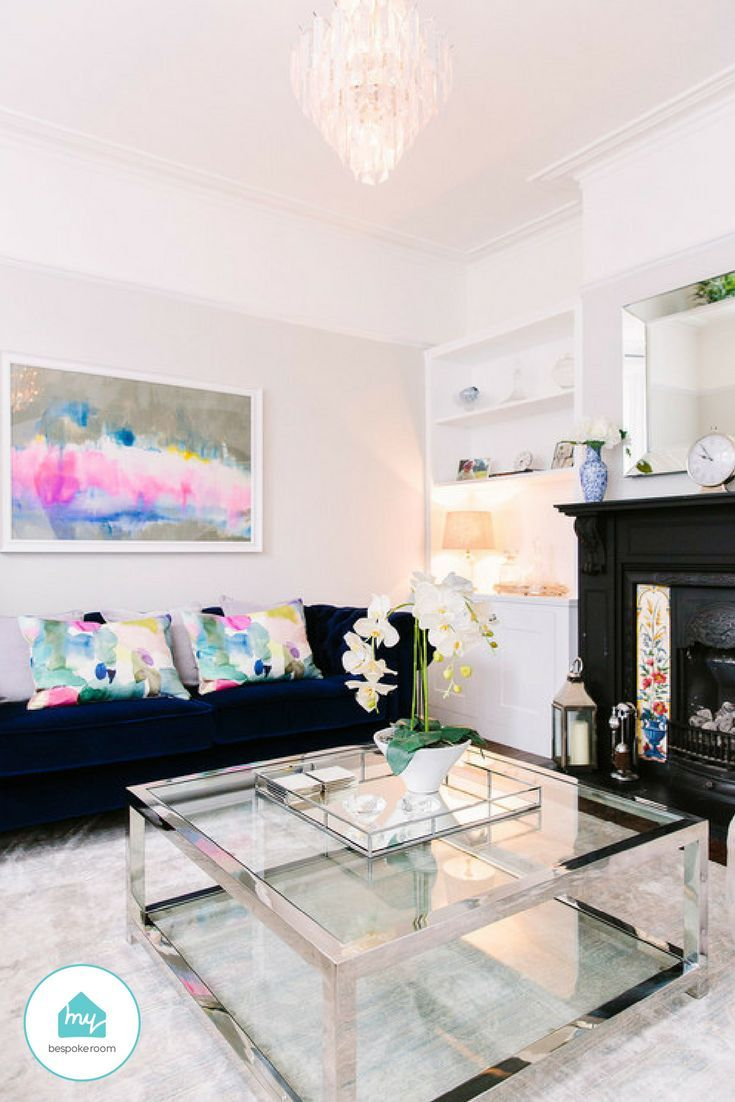 A Victorian living room, with a modern twist   Living room ...